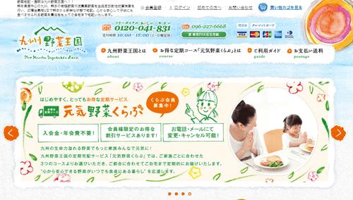 九州野菜王国の注文