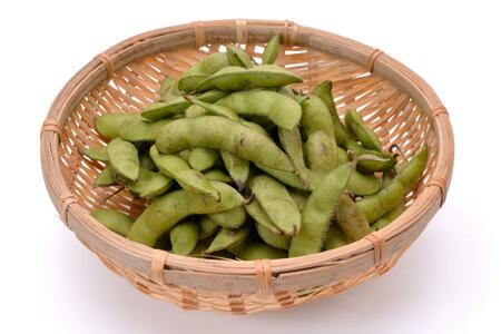 通販した枝豆の保存方法