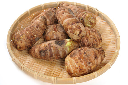 通販した里芋の保存方法