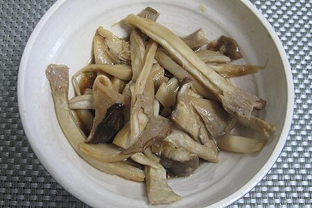 簡単エリンギのうま煮